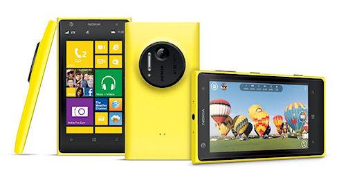 В интернете появилась информация о смартфоне Nokia Lumia 1020