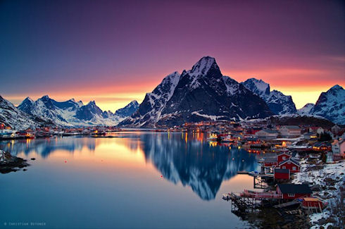 Норвегия и её красоты