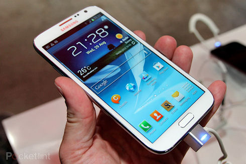 Samsung Galaxy Note III LTE был замечен на одной из выставок