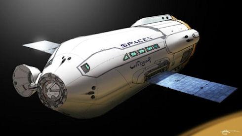 Новое космическое такси
