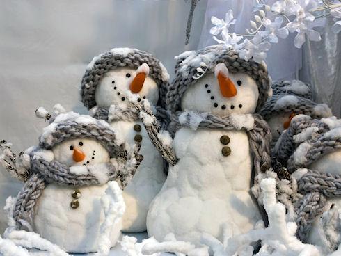 Новогодний персонаж — Снеговик