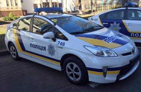 Новые патрульные авто в Украине: первые «живые» фото