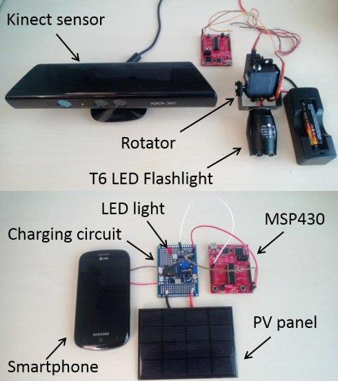 Новый аппарат Microsoft способен заряжать смартфон лучом света