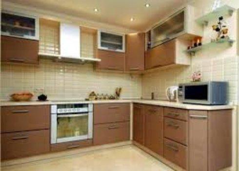 Облицовка стен в кухне