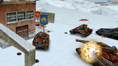 Браузерного 3d шутера танки онлайн