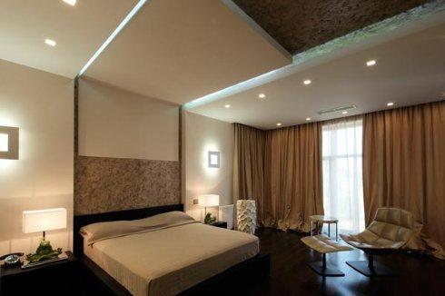 Оборудование комнаты настенными светильниками