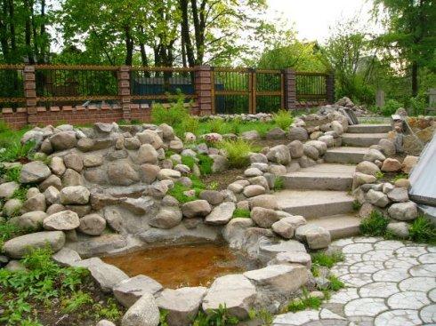 Оформляем садовый участок