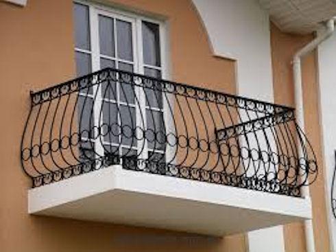 Ограждения балкона