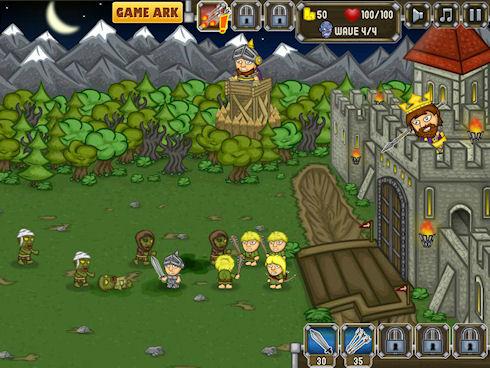 Онлайн игра рыцари против зомби