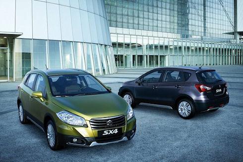 Модель Opel Mokka и модель Suzuki SX4 - сравнительный тест