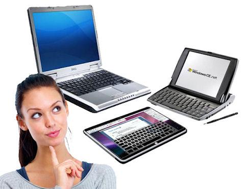 Как определиться с выбором: ноутбук, нетбук или планшет?