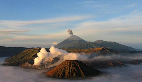 Остров Ява. Индонезия.