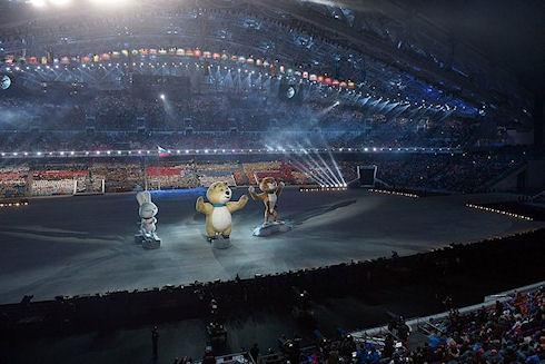 Проектирование освещения для стадиона «Фишт»