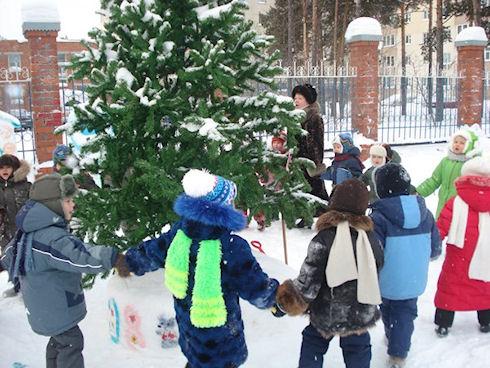 Где зимой можно оздоровить ребенка