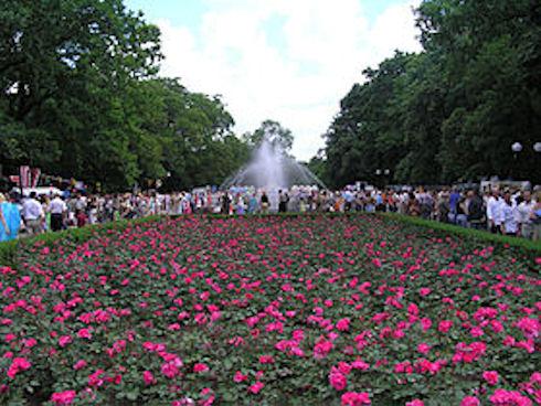 Парк в Тирасполе