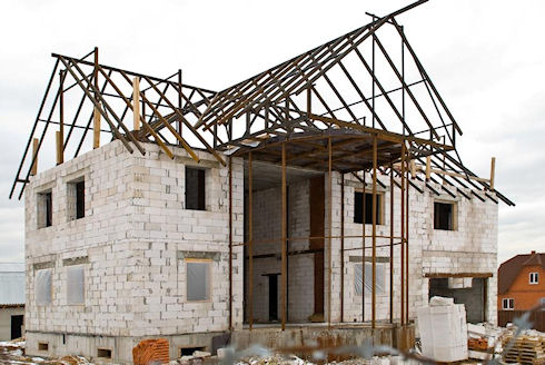 Пеноблоки: особенности строительства домов