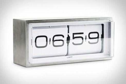Перекидные ретро-часы