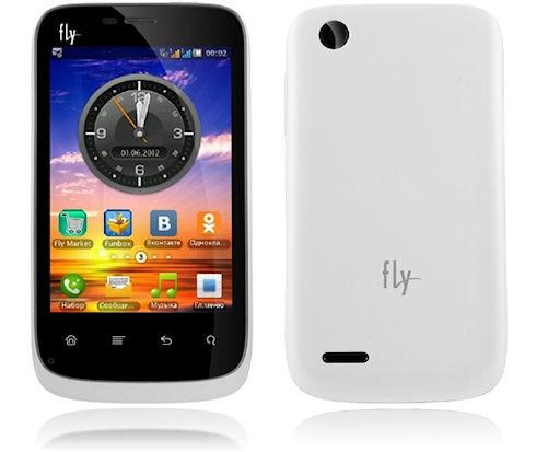 Первый смартфон от Fly