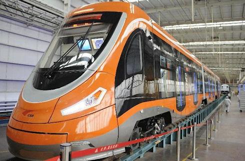 Первый в мире «водородный» трамвай запущен в Китае