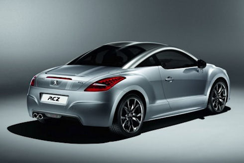 Peugeot выпустит автомобиль RCZ Onyx