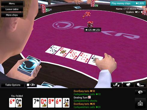 PKR представил покерное приложение для iPad