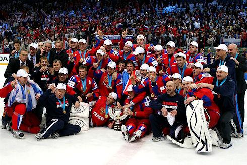 Поддержите сборную России на пути к хоккейному триумфу!