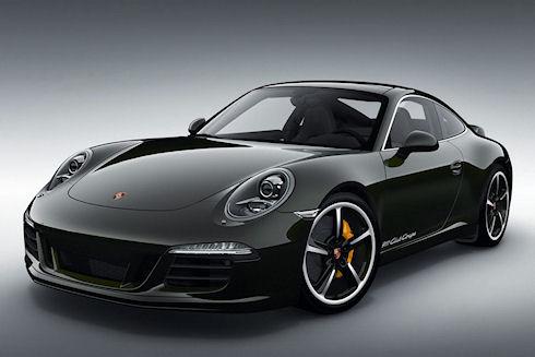 Лимитированный Porsche 911 Club Coupe
