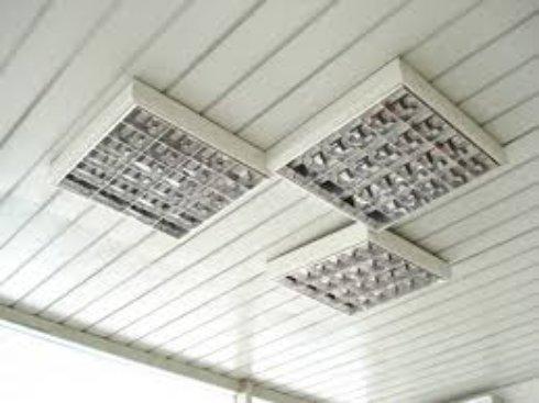 Потолочные люминесцентные светильники – экономное освещение
