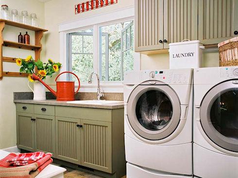 Оборудование и устройство прачечной в частном доме