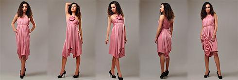 Практичная мода: платье трансформер
