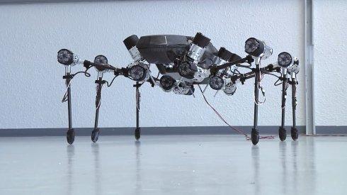 Представлен большой 6-лапый робот-насекомое