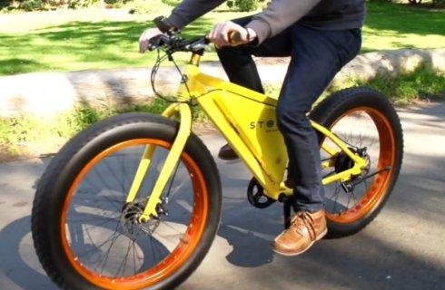 Представлен электрический велосипед «Storm eBike»