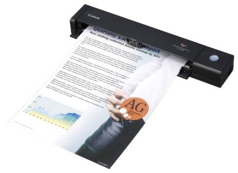 Представлен мобильный сканер от Canon