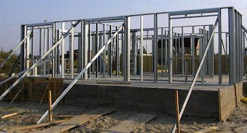 Преимущества каркасных домов из металла