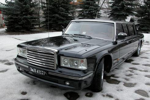 Президентский лимузин для Путина