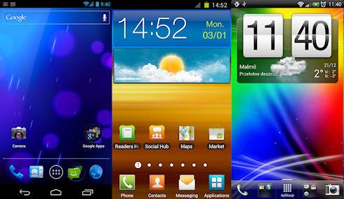 Лучшие приложения для смены интерфейсов