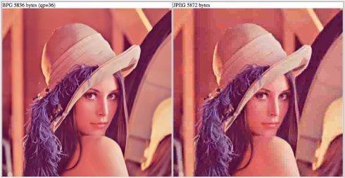 Программист создал альтернативу графическому формату JPEG