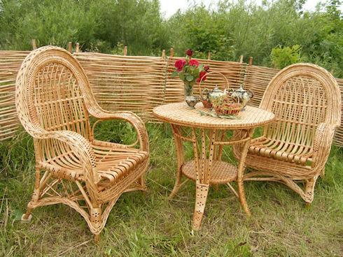 Производство плетеной мебели
