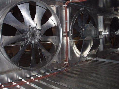 Промышленные осевые вентиляторы