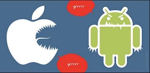 Противостояние Android и iOS