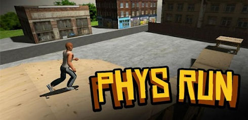Игры Qwop и Phys Run