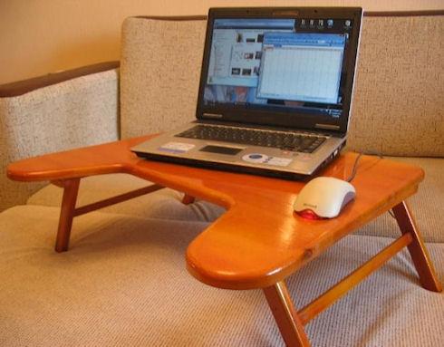 Разновидности столиков для ноутбука