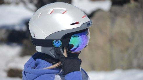 Разработан высокотехнологичный шлем для горнолыжников