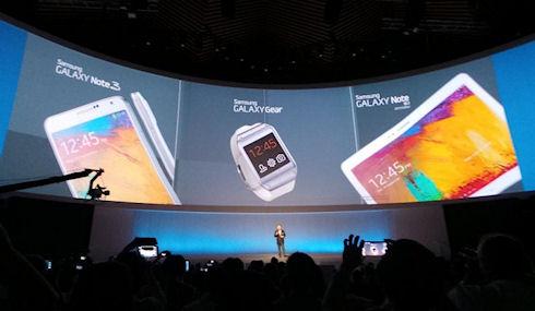 Новые разработки Samsung увидели свет