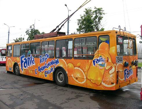 Реклама на транспорте – новые клиенты каждый день