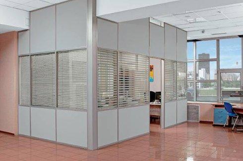 Ремонт офисов. Офисные перегородки