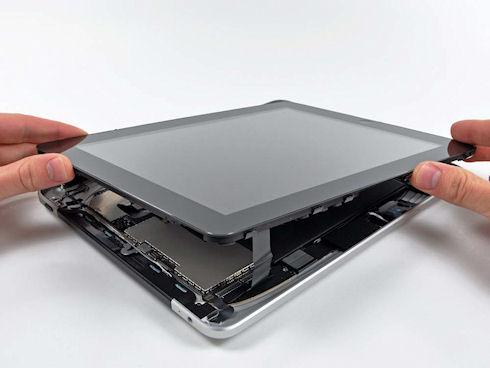 Ремонт стекла и экрана планшета от Apple. Пошаговая инструкция