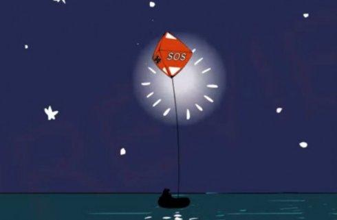 Воздушный шар значительно эффективнее сигнальной ракеты