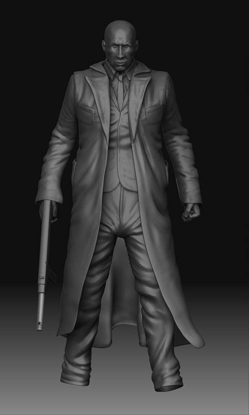 Рисуем Джокера из Бэтмена