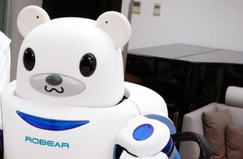 ROBEAR — роботизированный медведь, предназначенный для ухода за инвалидами